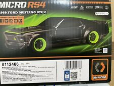 HPI New Micro RS4 RTR 1969 Ford Mustang Body 1/18 Suit Tamiya Axial Losi