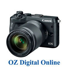New Canon EOS M6 +18-150mm Lens Black Mirrorless 24.2MP WiFi NFC Camera 1YrAuWty
