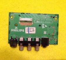 "SIDE AV INPUT CONNECTOR BOARD 3104 313 60085  FOR PHILLIPS LC370WX1-SL04 37"" TV"