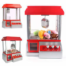 Candy Grabber Machine Joystick Catch Gum Soft Toys Arcade Game Gift Party Kids