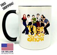 That 70s , Birthday, Christmas Gift, Black Mug 11 oz, Coffee/Tea