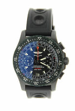 Breitling Skyracer Raven Chronograph PVD Stainless Steel Watch M27363A3/B823