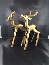 Breyer Decorator Gold Modernistic Buck And Doe