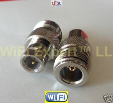 Adapter N female TYPE plug to FME male Jack RF Connector Converter shp from US