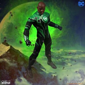 "One: 12 Collective DC Comics Green Lantern JOHN STEWART 6"" Action Figure Mezco"