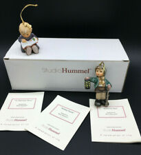 Berta Hummel Studio Hummel Ornaments - Set #19 (96057) - 1pc missing, 1pc repair