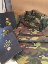 Camouflage Flak Vest - Serbian woodland Plus 3 Ballistic Plates