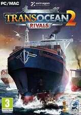 Transocean 2 rivales-PC DVD-Nuevo y Sellado