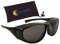 Fit Over Sunglasses Polarized Wear Over Glasses Mens Womens Driving Fishing Golf
