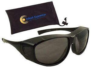 Polarized Fit Over Sunglasses Wear Over Glasses Men Women Driving Fishing Golf