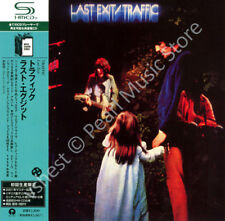 TRAFFIC LAST EXIT CD MINI LP OBI Steve Winwood Jim Capaldi Chris Wood Dave Mason