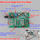2-phase & 4-phase 5-wire Stepper Motor DC 5V-12V Driver Board Speed Controller