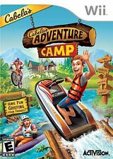 CABELAS ADVENTURE CAMP WII! BEAR HUNTER, SKEET SHOOT, FISHING, KAYAK, BIKING