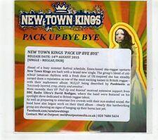 (GR996) New Town Kings, Pack Up Bye Bye - 2015 DJ CD