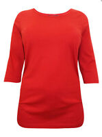 EX YOURS BLACK NAVY TEAL RED & PINK Cotton Ruched Side Top 16 18 20 22 24 26 28