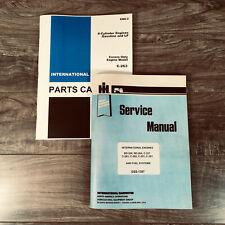 INTERNATIONAL 403 615 COMBINE ENGINE SERVICE PARTS C-263 6 CYL. MANUAL SET SHOP