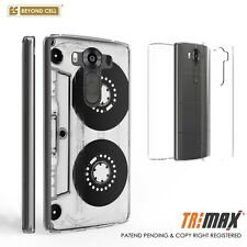Beyond Cell Tri Max®LG V10 Case, Ultra Slim 360°Full Body Cover-Cassette Tape