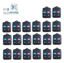 20 x NEW 4 BUTTON Keyless Entry REPLACEMENT Key Remote FOB Shell Case For Ford