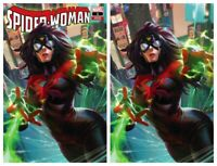 SPIDER-WOMAN #1 Derrick Chew Virgin & Trade Set - NM or Better - Limited To 600
