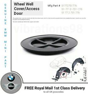 Genuine MINI Front Wheel Arch Headlight Access Cover Lid 51772751776