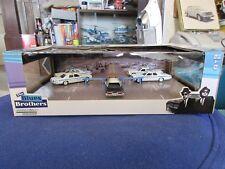 Greenlight Blues Brothers 5 Car Bridge Jump Set Diorama Chicago Police Monaco