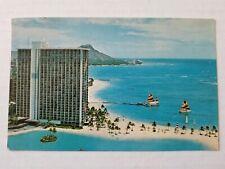 Hilton Hawaiian Village Postmarked 1982