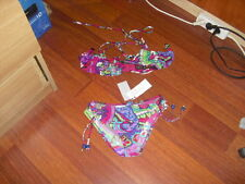 Tyche Hugo Bikini/Top Swimsuit France Size 1 - Floral Print New !
