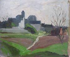 Louis Édouard TOULET (1892-1967) HsP / Village / Fauvist Fauvism Fauviste