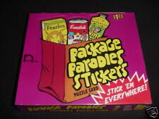 2000 Wacky Package Parodies 1st Series 1 48 Pack Unopened Factory Sealed Box