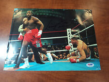 LENNOX LEWIS -  Signed  Authentic BOXING  9X12 Color Calendar Photo -  PSA DNA
