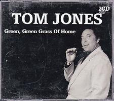 DOUBLE CD 35T DANS GROS BOITIER TOM JONES GREEN, GREEN, GRASS OF HOME BEST 2001