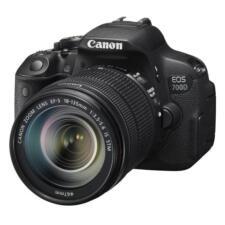 Canon EOS EOS 700D Kit II 18.0MP Digital SLR Camera - Black (Kit w/ EF S18-135mm