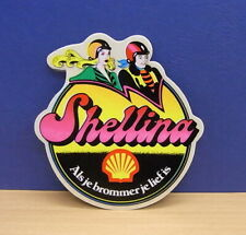 1x Sticker - aufkleber Shell / Brommer / Shellina with org.back 80's (0433)