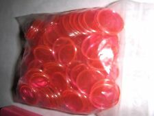 100 New Style Magnetic Professional 3/4 inch Pink Bingo Game Chips