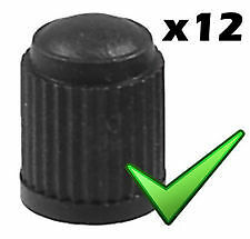 Valve Caps Valves Dust Caps Covers x12 for All Cars *Fast Free Delivery* 0MTR