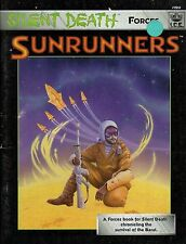 Silent death-forces-sunrunners-A force Book for silent death - (sc) - very rare