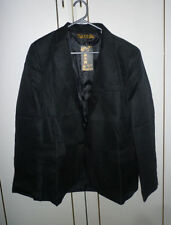 Unbranded Button Collared Hip Length Coats & Jackets for Men