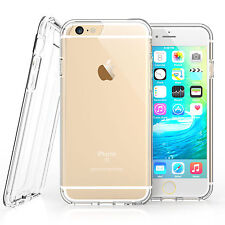 Clear Thin Back TPU Gel Jelly Skin Case / Cover For iPhone 5/5S/SE UK FREE POST
