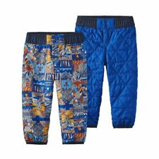New Baby Reversible Puff-ball pants Pants Patagonia (Tributary Totem{ sz 2t