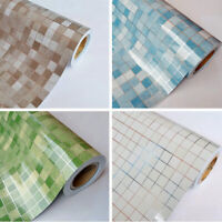 Waterproof Wallpaper Mosaic Self-adhesive Oil Proof Sticker Bathroom Kitchen
