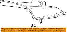 FORD OEM F-250 Super Duty ABS Anti-Lock Brake System-ABS Heat Shield 5C3Z2C325AA
