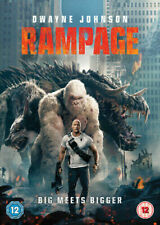 Rampage DVD (2018) NEW