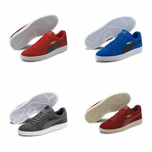 Puma Smash v2 Unisexe Chaussures de Sport Baskets Retro Look 364989