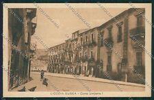 Catania Licodia Eubea cartolina QQ0297