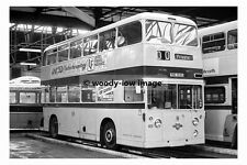 pt7554 - Leicester Corporation Bus no 103 in Depot - photograph 6x4