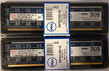 2x 1GB PC2-6400 Dell Dimension Inspiron Optiplex Precision Vostro XPS Memory NIB