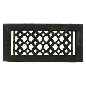Rectangular Register Cast Iron Floor Grate Heating Vent Scale Type Design