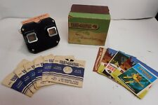 Vintage Sawyers View-Master Stereoscope Box & 6 Reels Sleeves