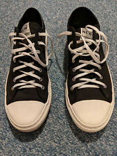 Nothing New Brand Men's Low Top Sneakers Size 11 Black Very Comfortable!