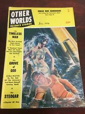 June 1956 Other Worlds Science Stories Pulp Science Fiction